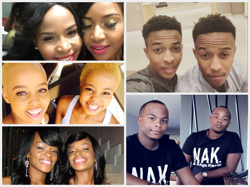Top 5 South African Celebrities Identical Twins Online
